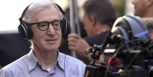 "File photo of director Woody Allen  on the set of ""The Bop Decameron"" in downtown Rome"